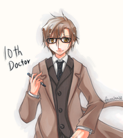 10th Doctor by focaccina