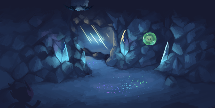 Reflection Cave by Reuniclus