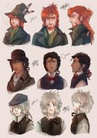 Tistow: Cast profiles by ElliPuukangas