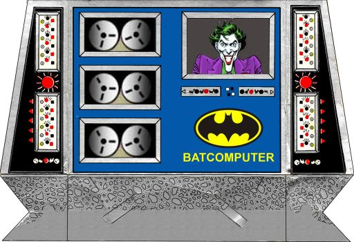 Super Powers Batcomputer Pattern by MisterBill82