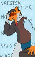 Nafster Project- Jesse (Page Two) by BlackDragonTFArt