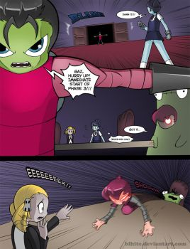 Invader Zim: Conqueror of Nightmare Page 18 by Blhite