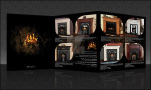 Honar-fire place by NAKOOT