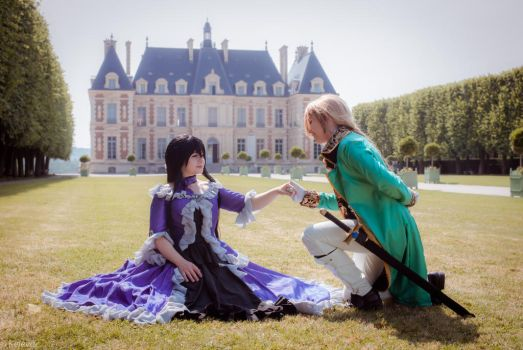 It Was a Sunny Day - Pandora Hearts by LobaLemu