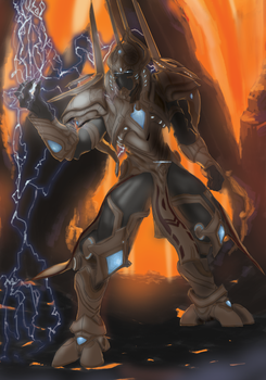 Artanis, Protoss Firstborn by maxgags