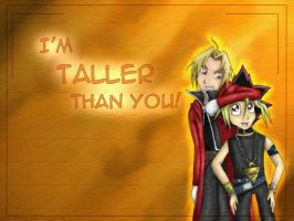I'm TALLER than you by pdutogepi