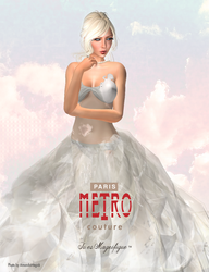 Secondlife~~Paris METRO Couture Ad for BoSL by MagickThoughts