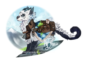 Alps Snow - Aluris | Adoptable Auction / CLOSED | by Fyurama