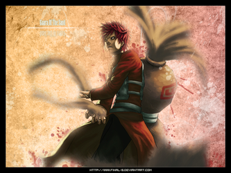 Gaara Of The Sand by final-S