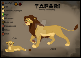 Tafari's Ref Sheet by Splasher91