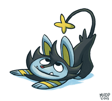 Luxio by sketchinthoughts
