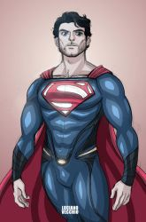 Man Of Steel by LucianoVecchio