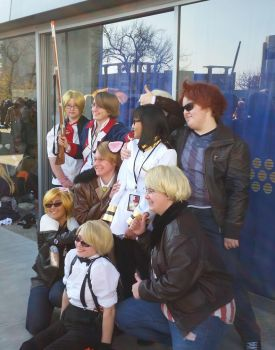 second day at Sac-Hetalia meetup-Amapan by ArthurJones93