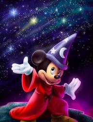 Magic Mickey by Cosmic-Chameleon