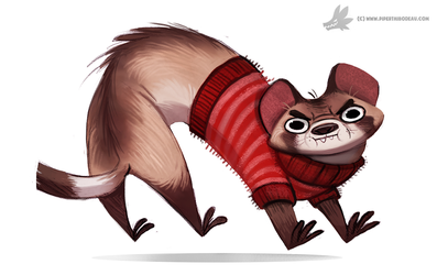Daily Painting 773. Cat Snake by Cryptid-Creations