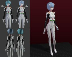 Rei Ayanami Mod by Fakemodeo