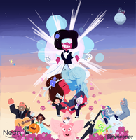 Steven Universe- The Strongest Love by KingNeonHappy