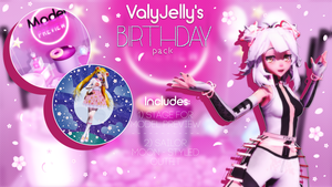[MMD] ValyJelly's Birthday pack DL by ValyJelly