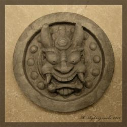 Japanese Roof Tile by flightresponse
