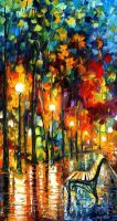 The Symphony Of Light by Leonid Afremov by Leonidafremov