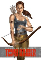 2018 Tomb Raider Bow and Arrow Variant 1 by urbanmusiq