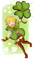 Linkle of the Irish by treespeakart