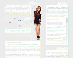 Layout 17. with Miley Cyrus by celestesd