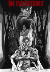 The Evil Within 2: Black and White Edition by QuackingRussians