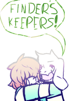 Finders keepers losers weepers by sunnearts