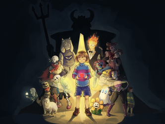 Happy second anniversary Undertale!! by Greatnini