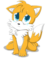 Puppy Eyed Tails by WhiteRaven4