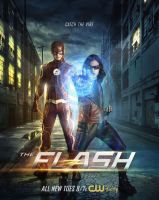 New Flash Season 4 Poster Featuring Vibe and Flash by Artlover67