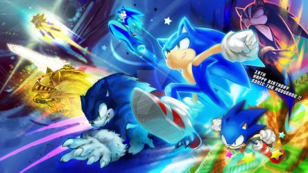 Happy Birthday Sonic by MRi