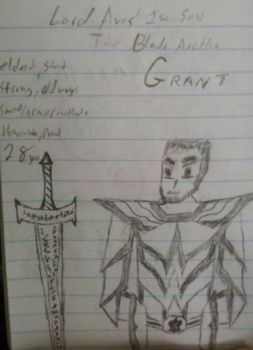 Grant, The Blade Archon by RadiantAbyss