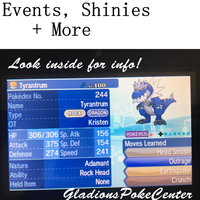 Shiny/Event Pokemon OTA [ Open ]