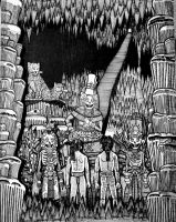 Xibalba - Mayan Underworld by atisuto17