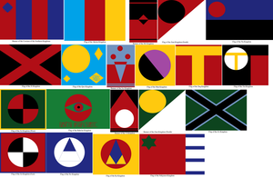 Flags of the Southern Kingdoms by tylero79