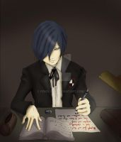 MINATO COLLAB by Fenglyph