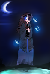 GhostEyes by MilliesMenagerie