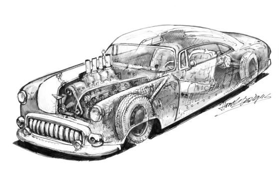 Leadsled '12 to go' by HorcikDesigns