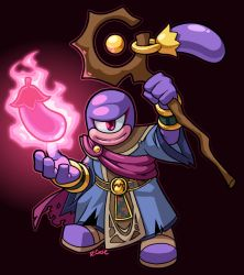 EggPlant Wizard by rongs1234