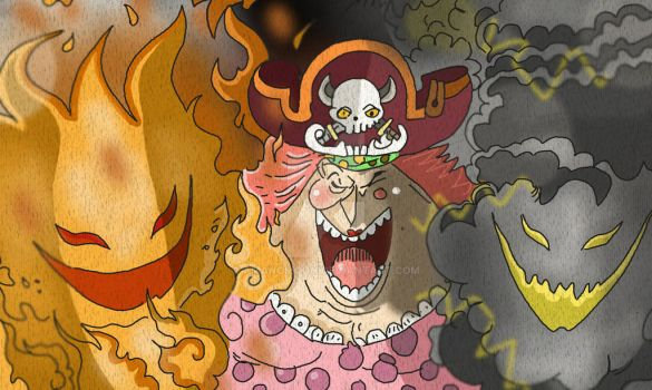 One Piece Chapter 843+ BigMom Zeus Power by Amanomoon