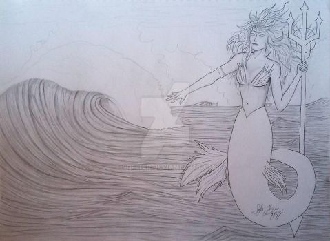 Female Poseidon by SOF-TER