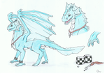 Bleu ref by CCDragon-93