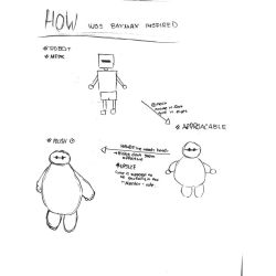 The evolution of Baymax by Angel4Danger