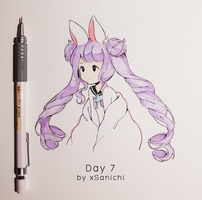 Inktober Day 7 by xSanichi