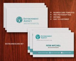Free Eco-Friendly Business Card Template Ver.2 by fiftyfivepixels