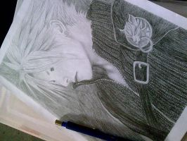 Cloud Strife by mystic-pUlse