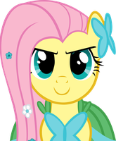 Fluttershy At the Gala Vector by Alexstrazse