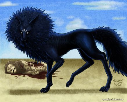 Pourt the Lion Eater by spoonyliger